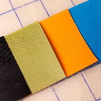 Heat Sealable Fabric Sample Pack | DIY Outdoor Adventures | Iron Raft