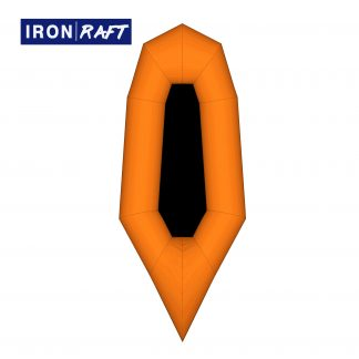 Homemade DIY Packraft Deluxe Kit | ORANGE IRON RAFT | Packrafting