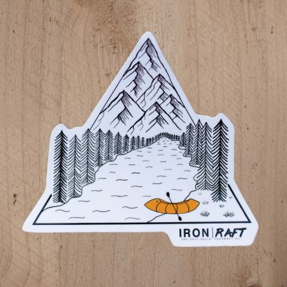 Iron Raft Triangle Sticker